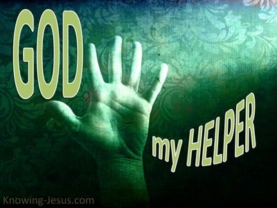 God, My Helper (devotional) (green)